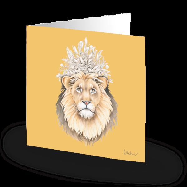 Kort Crowned Lion