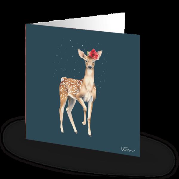 Fantasia litet kort Bambi Kahlo 75x75